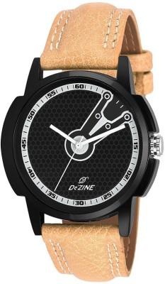 Dezine DZ-GR063-BLK-BRW  Analog Watch For Boys