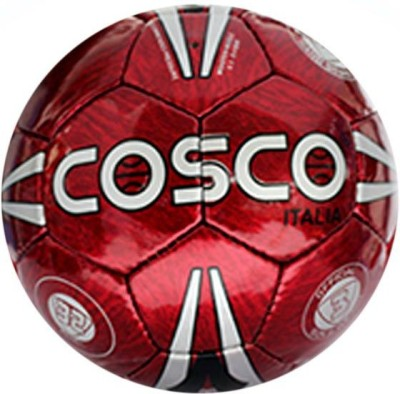 Cosco Italia Football   Size: 3 Pack of 1, Red Cosco Footballs