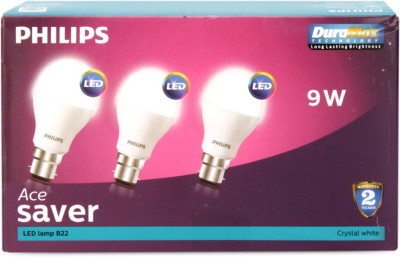 Philips-9W-LED-Bulb-(White,-Pack-of-6)