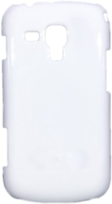 Iway Back Cover for Samsung Galaxy S Duos S7562/ S2 Duos S7582(White, Plastic)