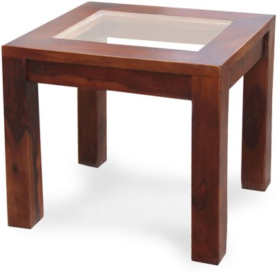The Attic Solid Wood Coffee Table(Finish Color - Dark Honey)