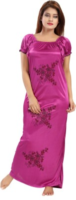 Shopping World Women Nighty(Purple)