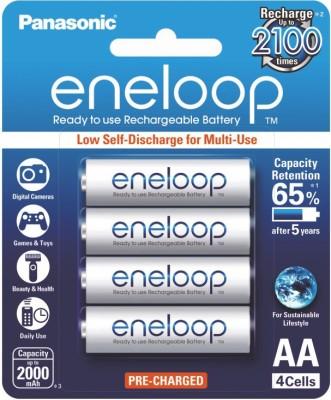 Panasonic Eneloop AA 2000 mAH Rechargeable Ni-MH Battery