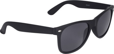 Poloport Wayfarer Sunglasses(Black)