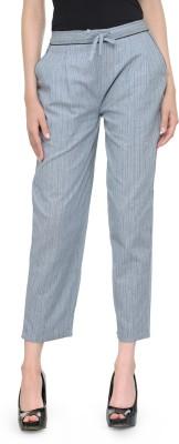 Bitterlime Regular Fit Women Blue Trousers