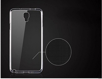 Case Creation Back Cover for LG X Screen K500N(Transparent Clear, Silicon)