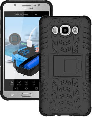 Flipkart SmartBuy Back Cover for Samsung Galaxy J7   6  New 2016 Edition  Black, Shock Proof