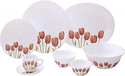 Laopala Tulip Garden Pack of 27 Dinner Set(Opalware) at flipkart