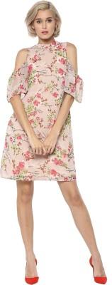 Rare Women Sheath Multicolor Dress