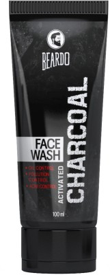 25% OFF on Beardo Activated Charcoal - ACNE, Oil & Pollution Control Face Wash(100 ml)  on Flipkart | PaisaWapas.com