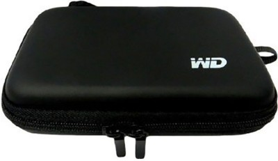 Fun2Dealz WD EXTERNAL POUCH 2.5 inch HARD DISK CASE(For EXTERNAL HARD DISK, Black)