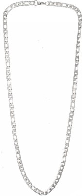 Men Style New Design 6mm Thick and 600mm Long Chain PSCh001001 Stainless Steel Chain at flipkart