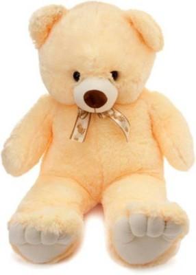 AVS 4 Feet General Teddy Bear For Gift   122 cm Cream AVS Soft Toys