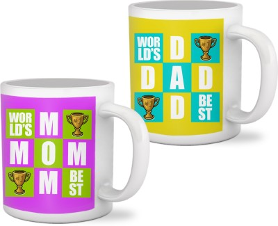 Tiedribbons Marriage Anniversary Gifts for Parents Mug Gift Set  available at flipkart for Rs.699