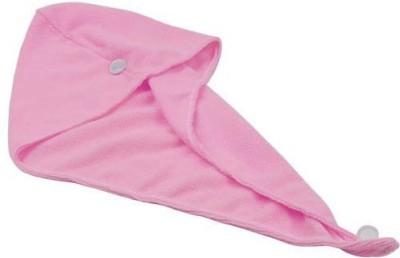 FeelBlue Cotton Terry 300 GSM Hair Towel(Pink) at flipkart