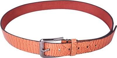 Stylehoops Men Party Tan Artificial Leather Belt