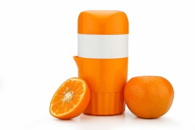 JK manual fruit Plastic Hand Juicer(Orange) at flipkart