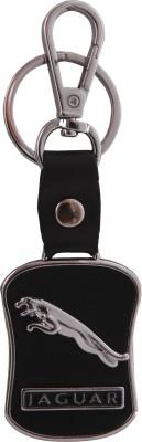 NCC NCC163 Jaguar Leather Metal JR07 Locking Key Chain(Black) Locking Carabiner(Multicolor)