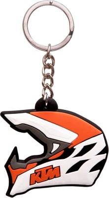 Spot Deal Jabz104 KTM Helmet Jabzped Key Chain Key Chain  available at flipkart for Rs.149