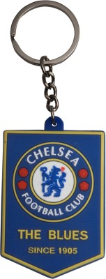NCC NCC143 Chelsea Football Club Rubber Carabiner(Multicolor)