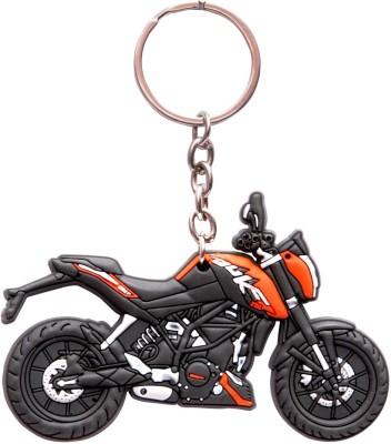 Oyedeal KTM Duke 200 Bike Shape 3D KYCN56 Key Chain(Multicolor)  available at flipkart for Rs.155