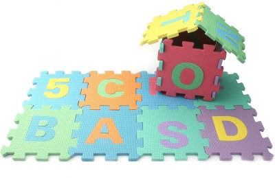 SAVFY Rubber Baby Play Mat(Multicolor, Medium)