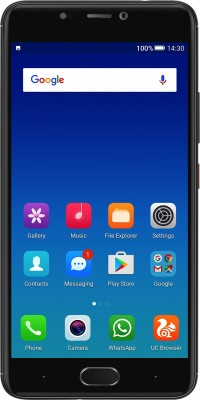 Gionee A1 (Black, 64 GB)(4 GB RAM) at flipkart