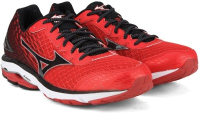 68e89991467f 60% OFF on Mizuno WAVE RIDER 19 Running Shoes For Men(Red) on Flipkart |  PaisaWapas.com