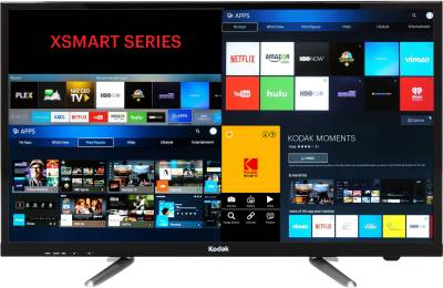 Kodak 80cm (32 inch) HD Ready LED Smart TV - No Cost Emi ₹17,499₹18,500