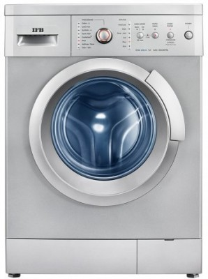 IFB 6Kg Fully Automatic Front Load Washing Machine Silver (EVA AQUA SX LDT, Silver)