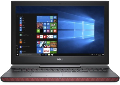 Dell Inspiron Core i7 7th Gen - (8 GB/1 TB HDD/Windows 10 Home/4 GB Graphics) 7567 Notebook(15.6 inch, Matt Black, 2.62 kg)