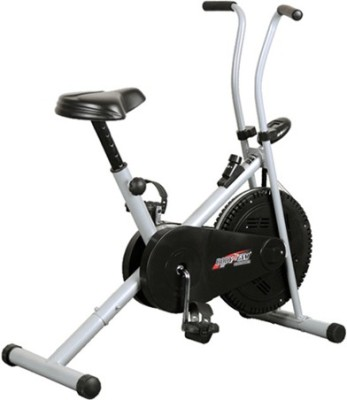 Deemark AIR BIKE 1001 FITNESS EXERCISE CYCLE DUAL ACTION WEIGHT LOSE Indoor Cycles Exercise Bike(Black, Grey)  available at flipkart for Rs.4999