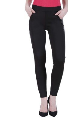 Kritika's World Black Jegging(Solid) at flipkart