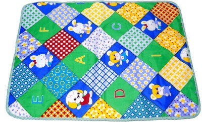 Blossom Trendz Cotton, Plastic Sleeping Mat Baby Sleeping Mat Baby Carry Bed(Multicolor, Medium)  available at flipkart for Rs.135