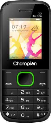 Champion X3 SULTAN(Black, Green)