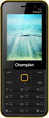 Champion Y3 DANGAL(Black, Yellow)