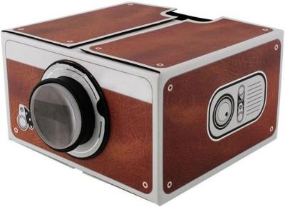 Shrih Cinema 2.0 DIY Cardboard Mobile Phone Portable Projector(Multicolor)