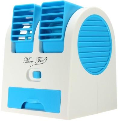 POWERNRI Mini Fresh Air Cooler With Fragrance USB Fan, USB Air Freshener Multicolor