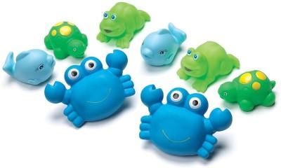 Playgro Bathtime Squirtees 8pk Bath Toy(Multicolor)