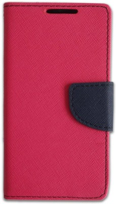AryaMobi Flip Cover for Samsung Galaxy Grand Prime Pink