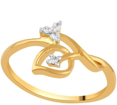 Asmi Designer 18kt Diamond Yellow Gold ring