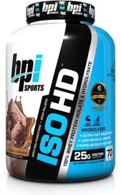 Bpi Sports Iso Hd (2.40Kg, Chocolate Brownie)