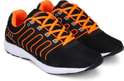 Provogue Sports Shoes(Orange) at flipkart
