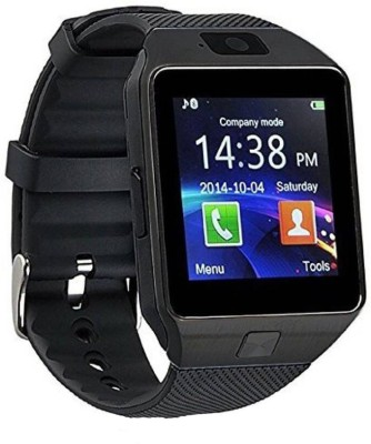 Premium Design Dzo9-199 phone black Smartwatch(Black, Strap, Regular)  available at flipkart for Rs.1499