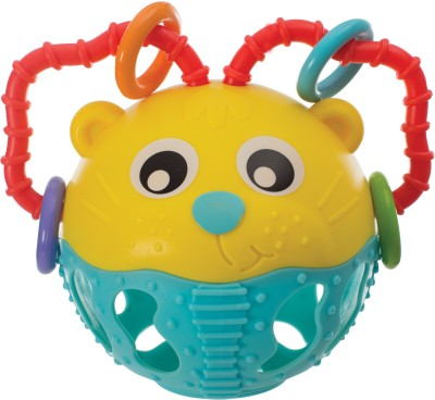 Playgro Junyju Rolly Poly Lion(Multicolor)