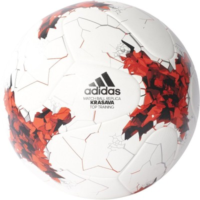ADIDAS Confederations Cup Russia 2017   Match Ball Replica Krasava Top Rating Football   Size: 5 Pack of 1, Multicolor ADIDAS Footballs