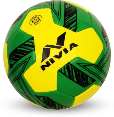 Nivia Oslar Football   Size: 3 Pack of 1, Yellow