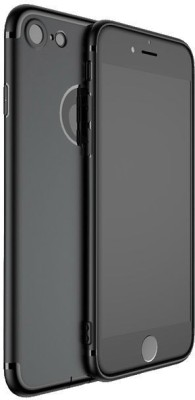 GadgetM Back Cover for Apple iPhone 6s Plus(Black, Silicon)