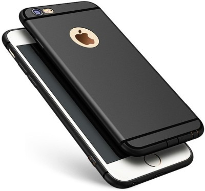 GadgetM Back Cover for Apple iPhone 6(Black, Flexible Case)