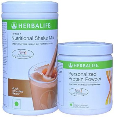 Herbalife Formula 1 Chocolate Shake Formula 3 Protein Powder(Set of 2)